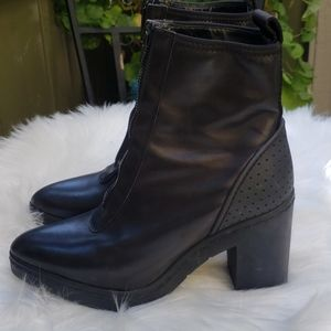 Alexander Wang x H&M Leather Ankle Boots 8.5